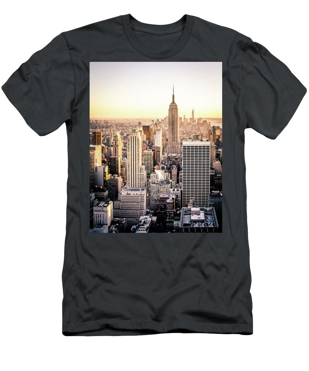 Nyc T-Shirt featuring the photograph Manhattan by Michael Weber