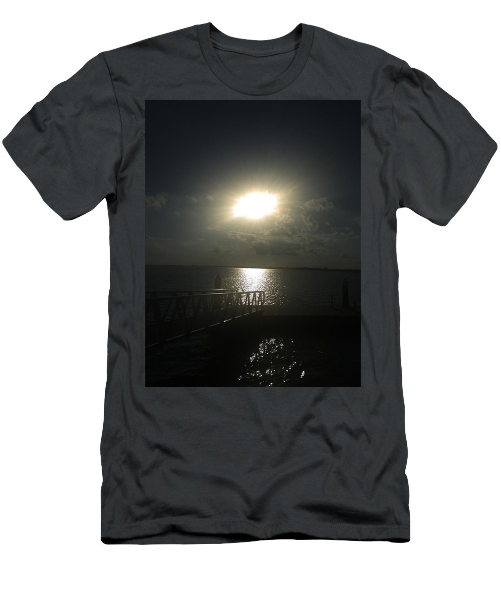 Alone Men's T-Shirt (Athletic Fit) featuring the photograph Me And My Thoughts by Bettye Rowe