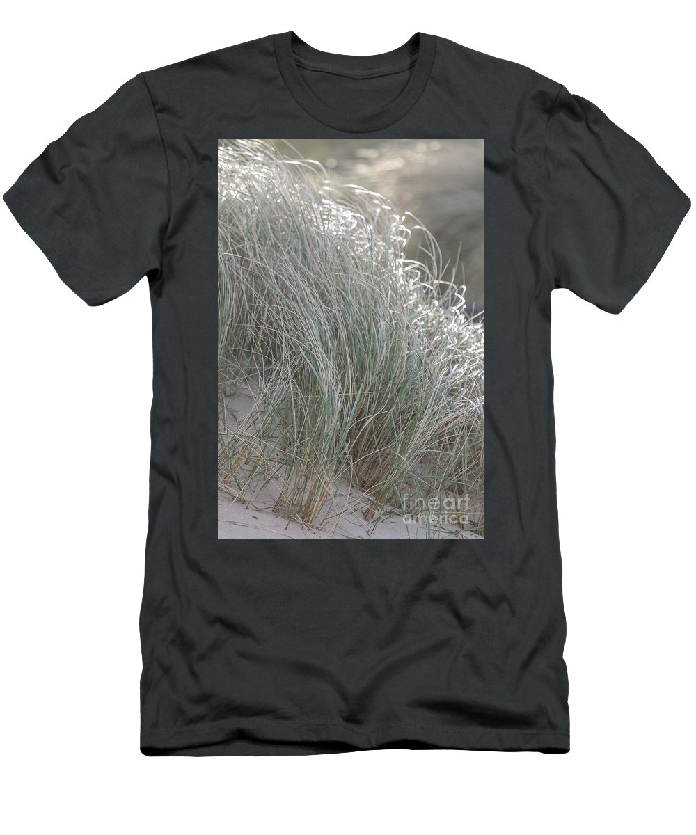 Meer Men's T-Shirt (Athletic Fit) featuring the mixed media Meergras by Gnter Havlena