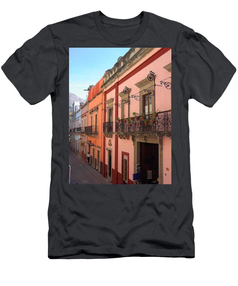 Charity Men's T-Shirt (Athletic Fit) featuring the photograph Mexico by Mary-Lee Sanders