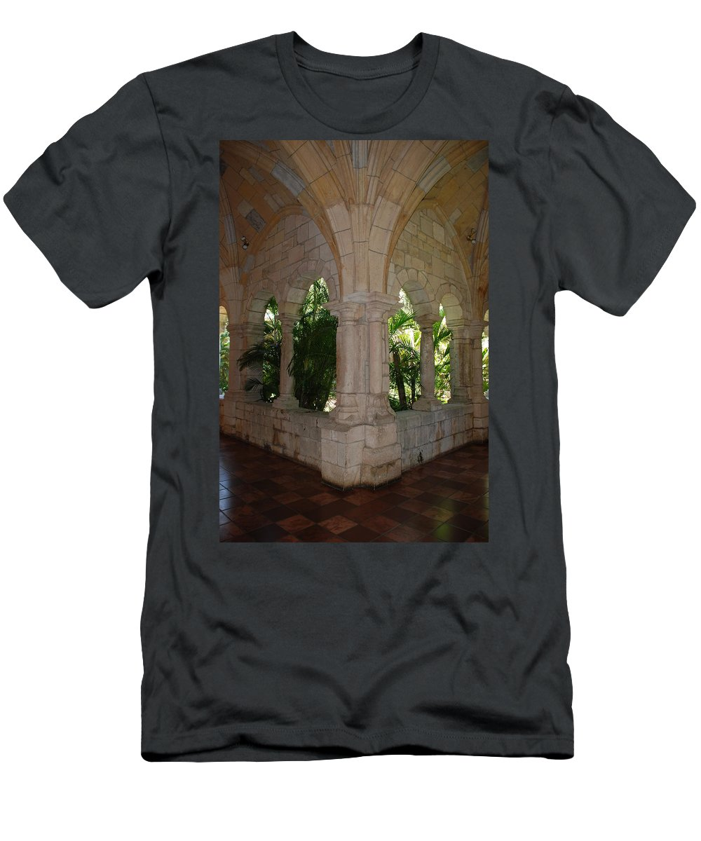 Architecture Men's T-Shirt (Athletic Fit) featuring the photograph Miami Monastery by Rob Hans