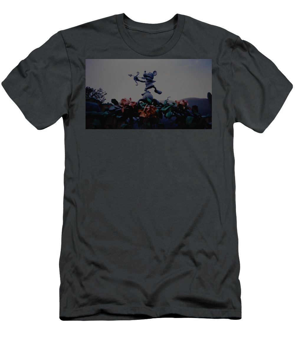 Micky Mouse T-Shirt featuring the photograph Mickey Mouse by Rob Hans
