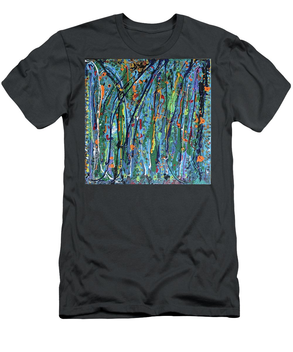 Bright T-Shirt featuring the painting Mid-Summer Night's Dream by Pam Roth O'Mara
