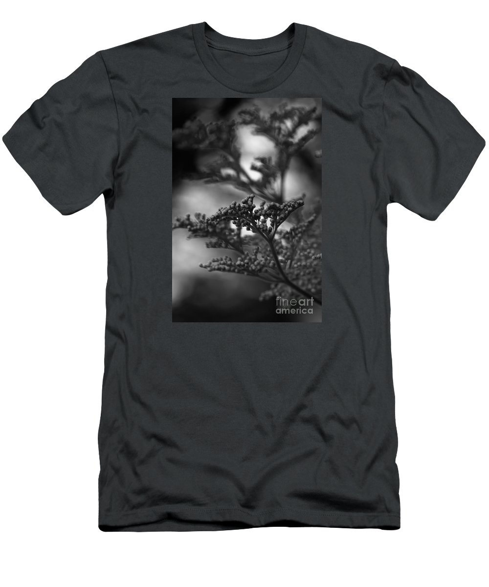 Silver Men's T-Shirt (Athletic Fit) featuring the photograph Mirrored In Sterling by Linda Shafer