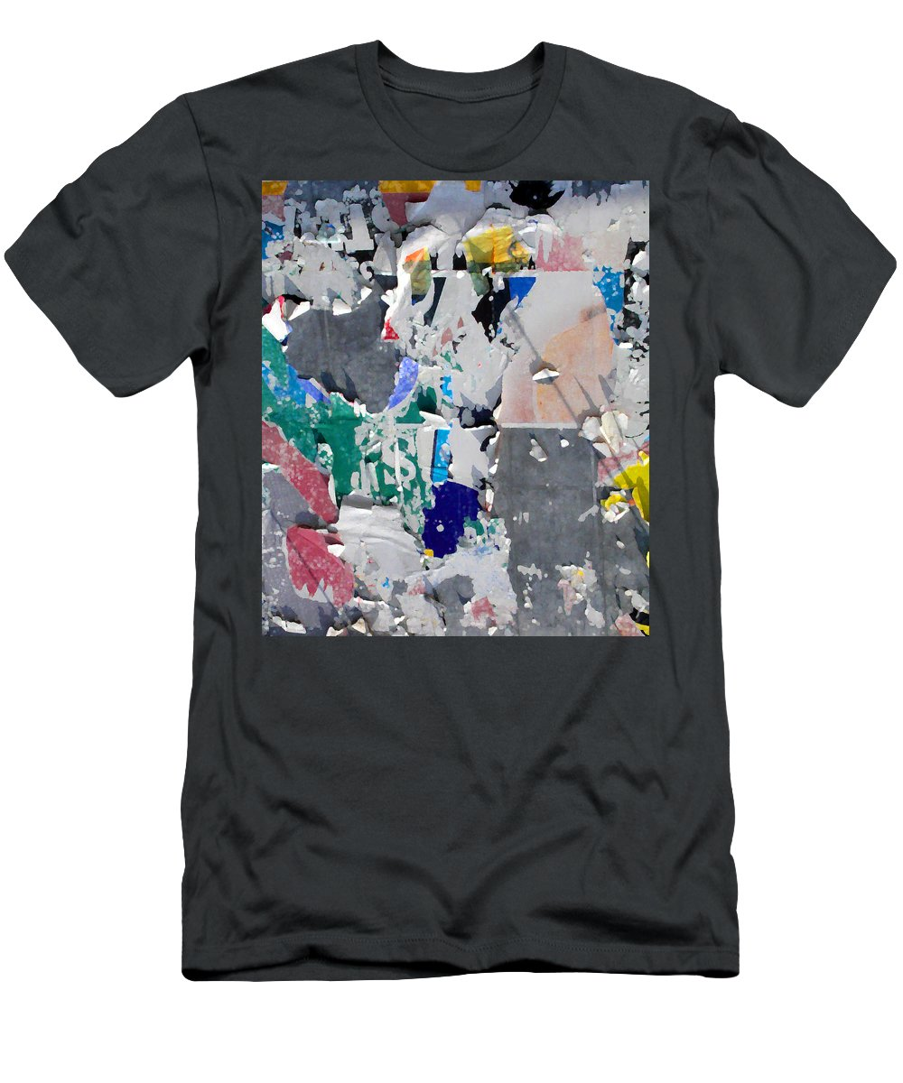 Abstract Men's T-Shirt (Athletic Fit) featuring the photograph Money Sign by Anne Cameron Cutri