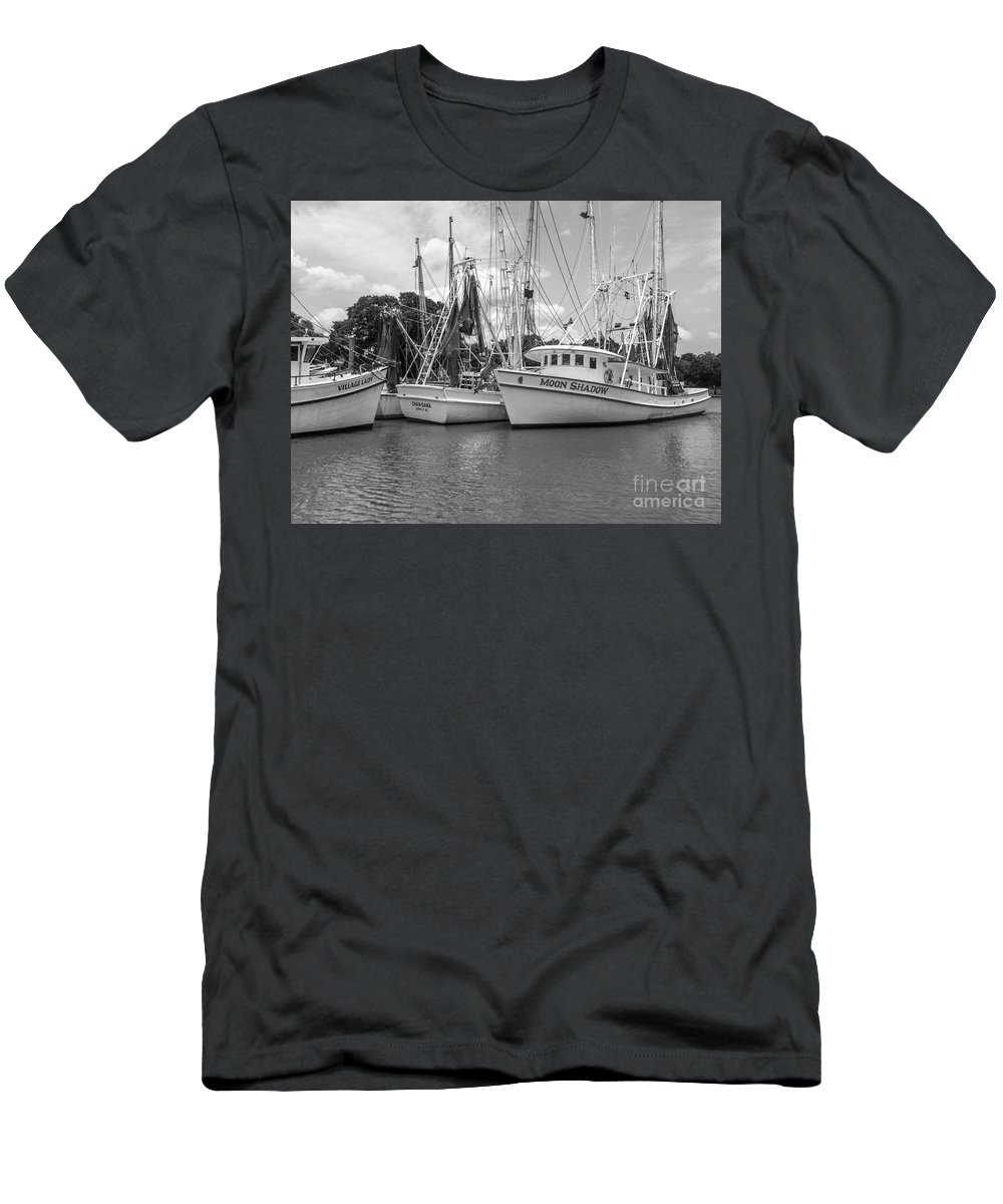 Moon Shadow Men's T-Shirt (Athletic Fit) featuring the photograph Moon Shadow by Dale Powell