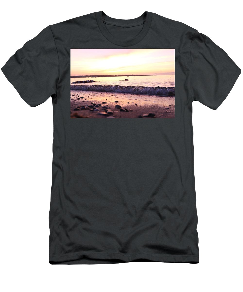 Sunrise Men's T-Shirt (Athletic Fit) featuring the photograph Morning Sunrise 09-02-18 # 5 by Maurio Francois