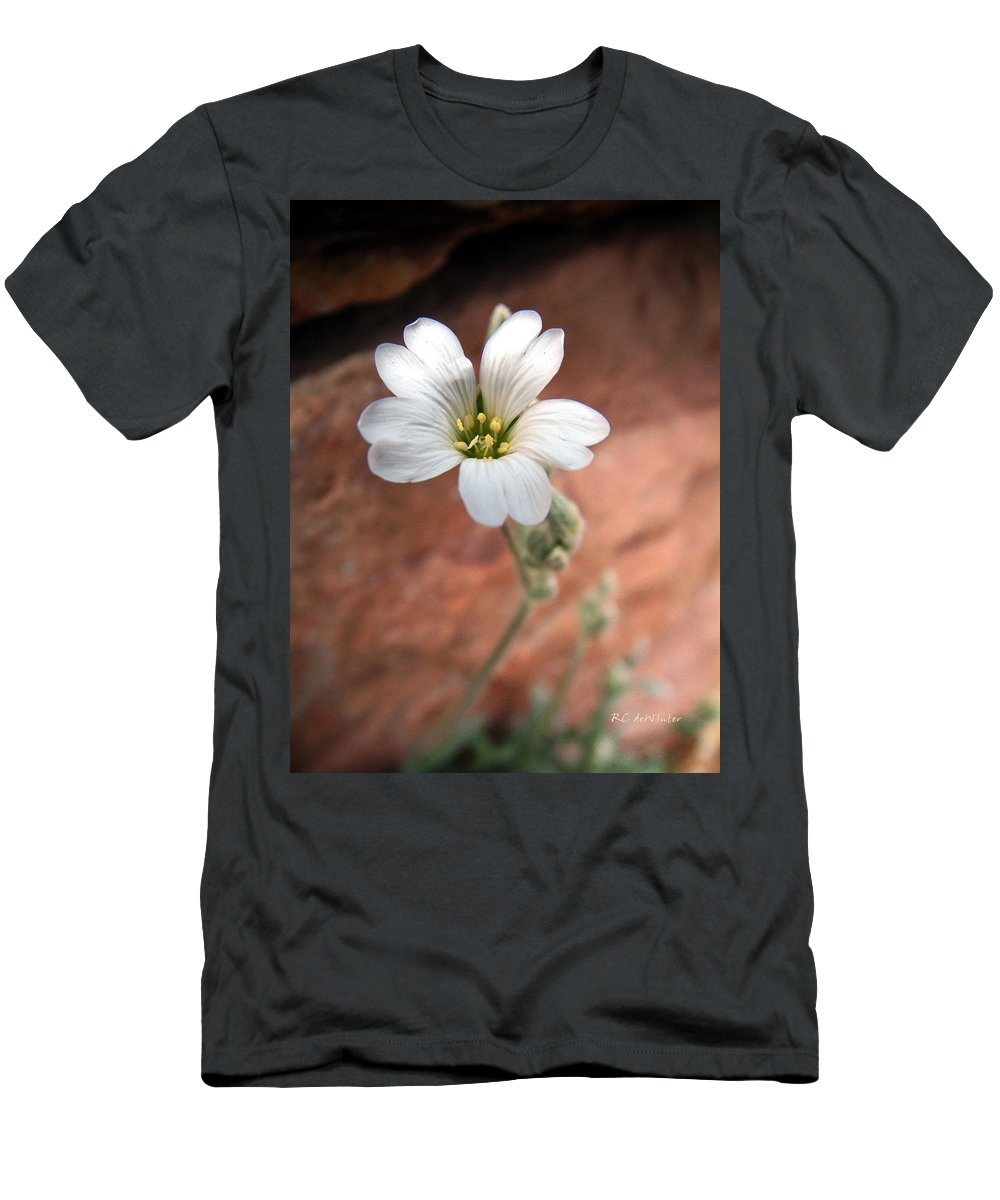 Alpine Men's T-Shirt (Athletic Fit) featuring the photograph Mountain Beauty by RC DeWinter