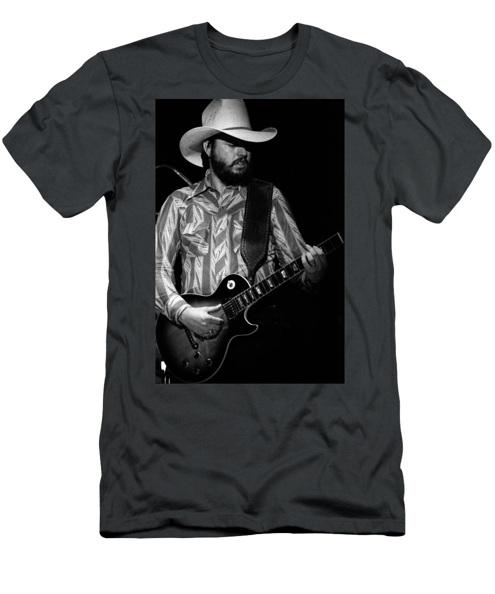 Southern Rock Men's T-Shirt (Athletic Fit) featuring the photograph Mtb77#44 by Ben Upham