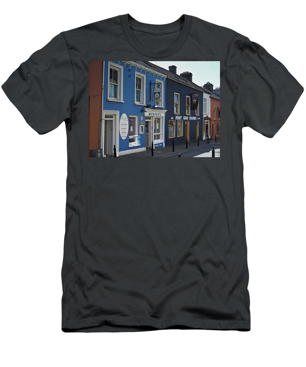 Irish Men's T-Shirt (Athletic Fit) featuring the photograph Murphys Ice Cream Dingle Ireland by Teresa Mucha