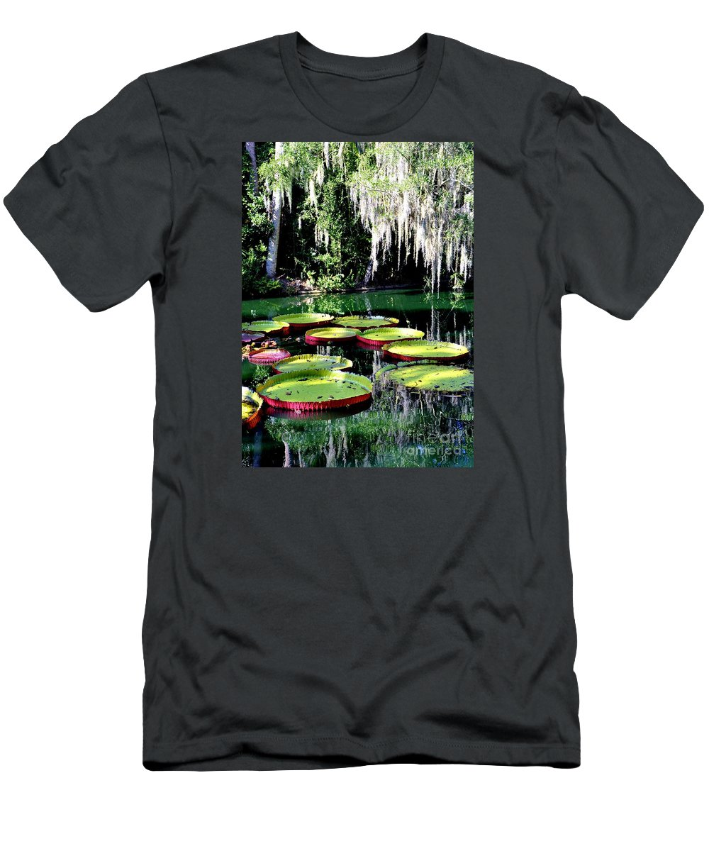 My Pad Men's T-Shirt (Athletic Fit) featuring the photograph My Pad by Lisa Renee Ludlum