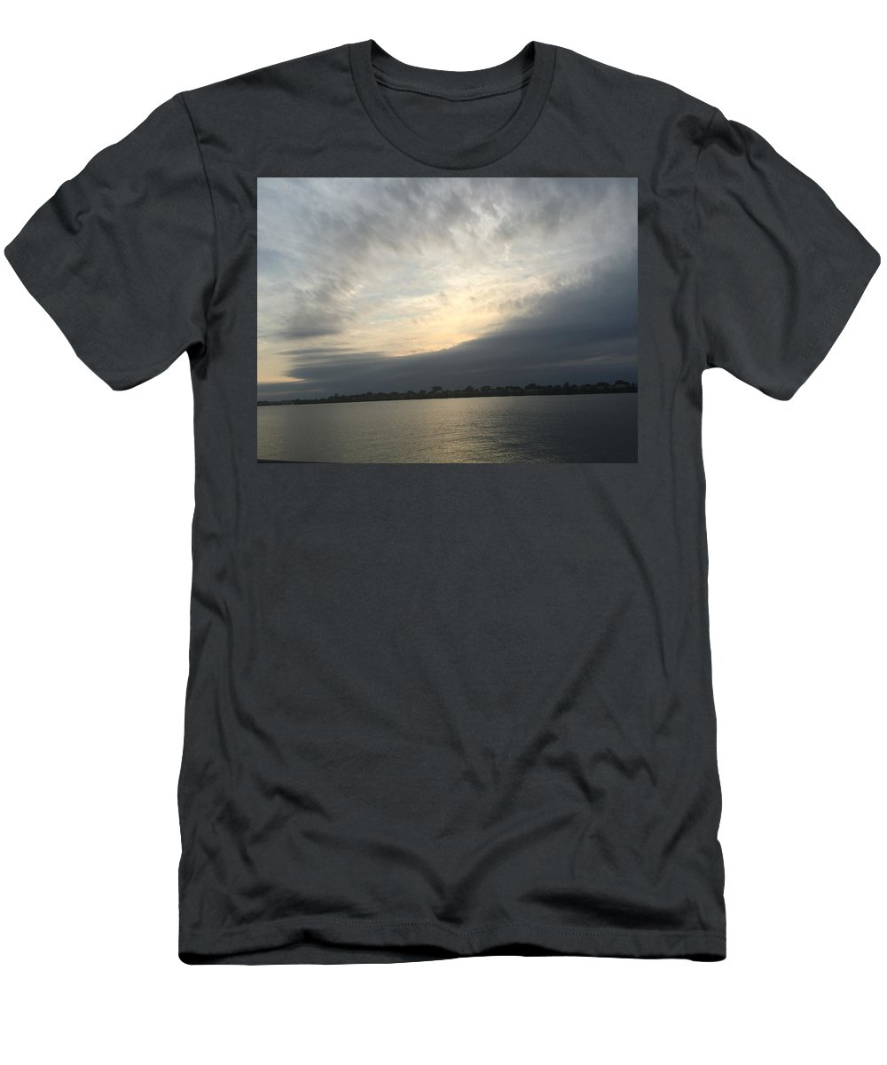 Sunset Men's T-Shirt (Athletic Fit) featuring the photograph My Peace by Bettye Rowe