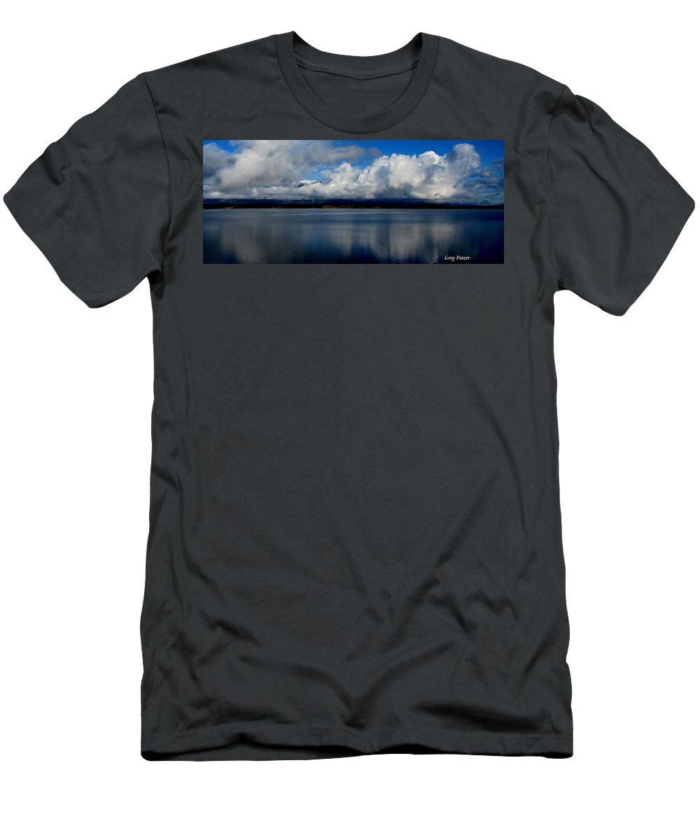Patzer Men's T-Shirt (Athletic Fit) featuring the photograph Mystic by Greg Patzer