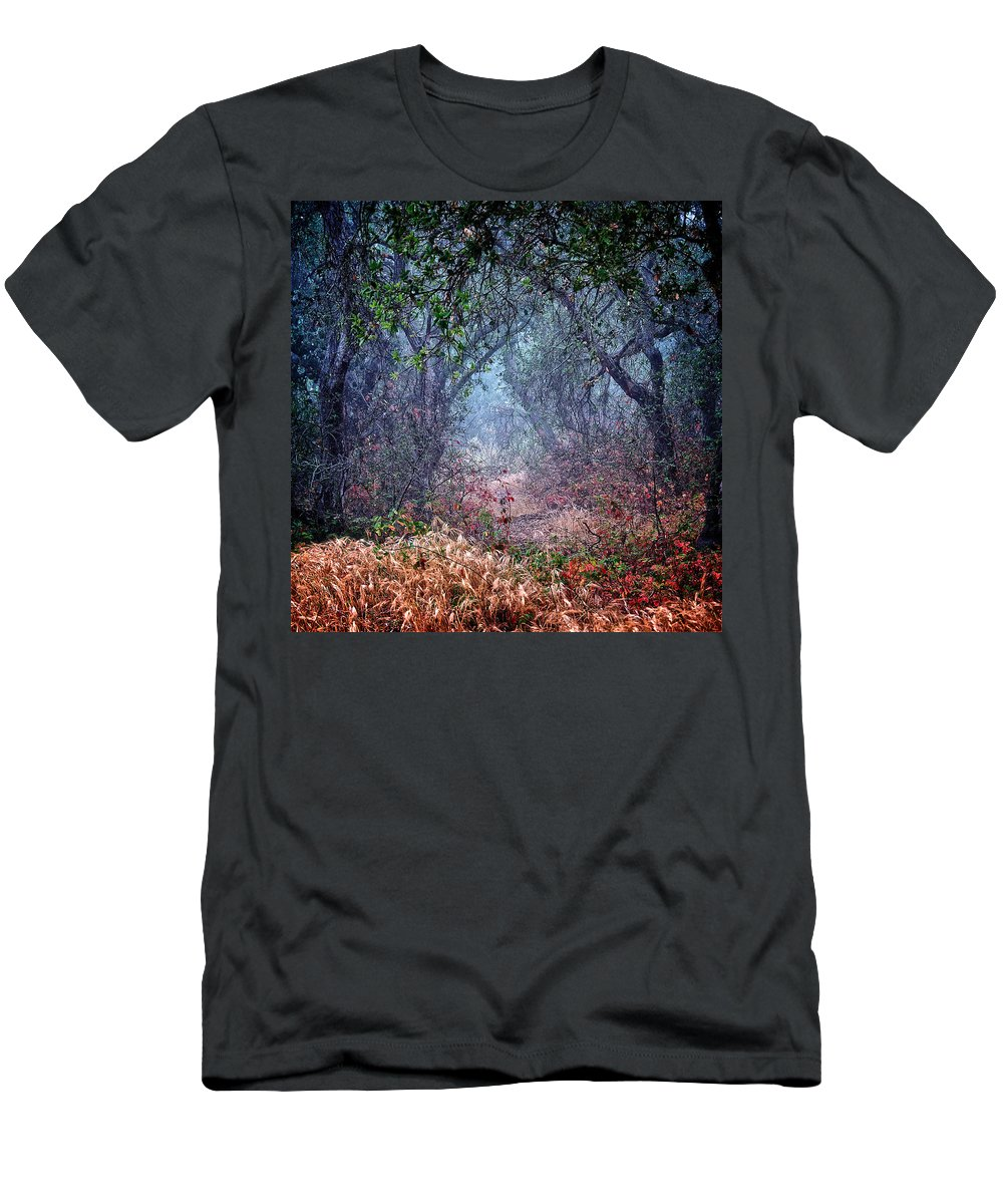 Nature T-Shirt featuring the photograph Nature's Chaos, Arroyo Grande, California by Zayne Diamond Photographic