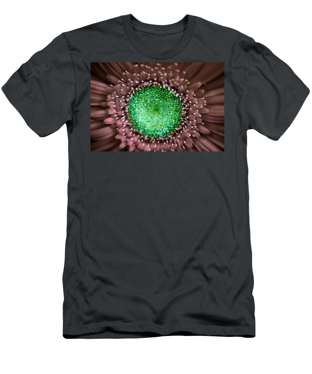 Flower Men's T-Shirt (Athletic Fit) featuring the photograph Nature's Eye by Graesen Arnoff
