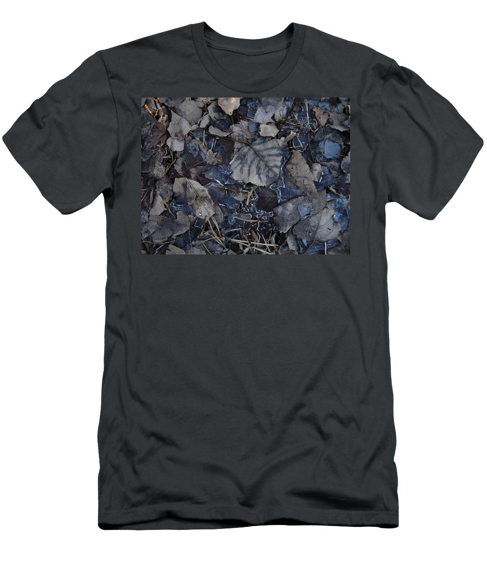 Men's T-Shirt (Athletic Fit) featuring the photograph No Snow by Aiden Bishop