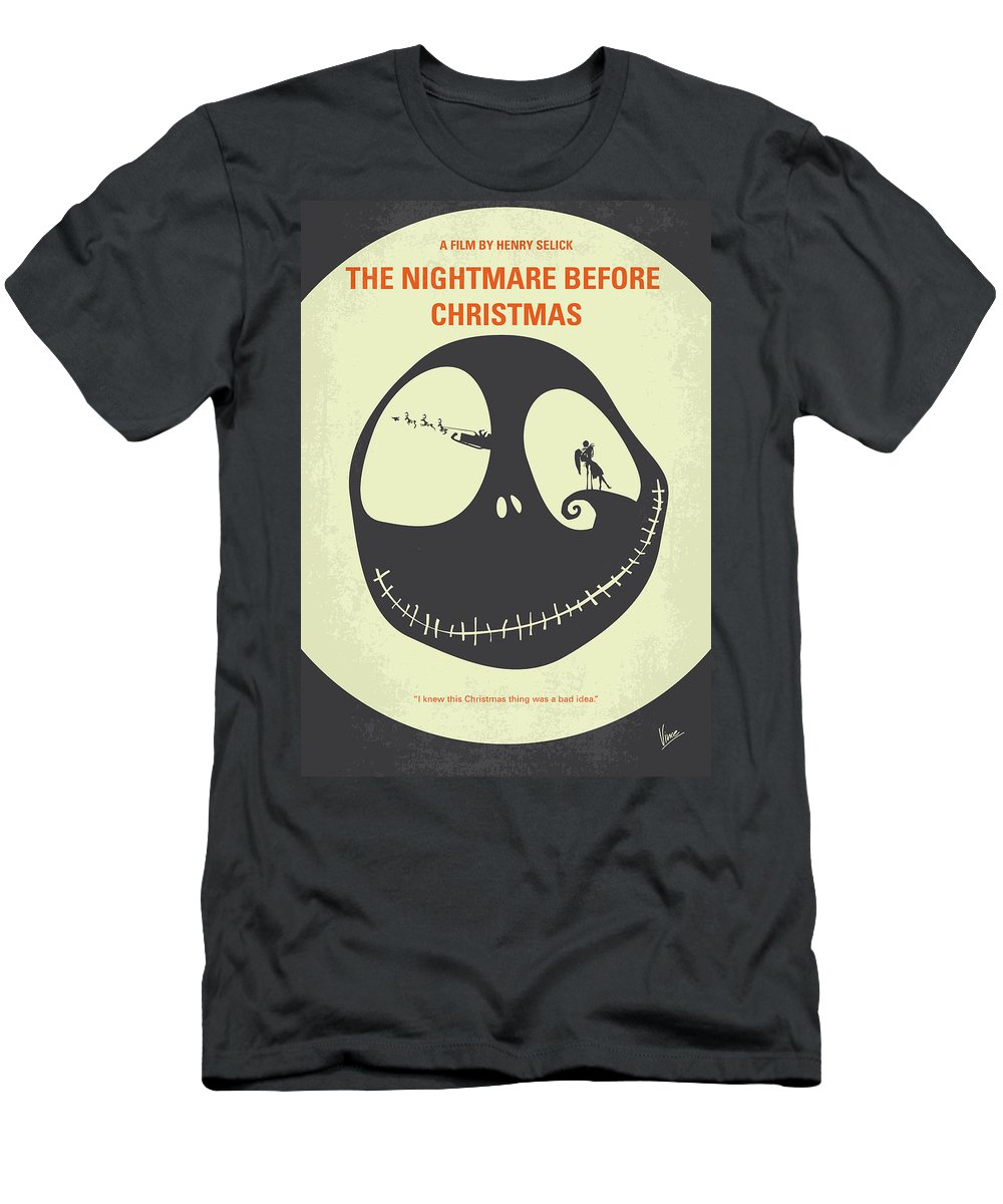 The Nightmare Before Christmas T-Shirts | Fine Art America