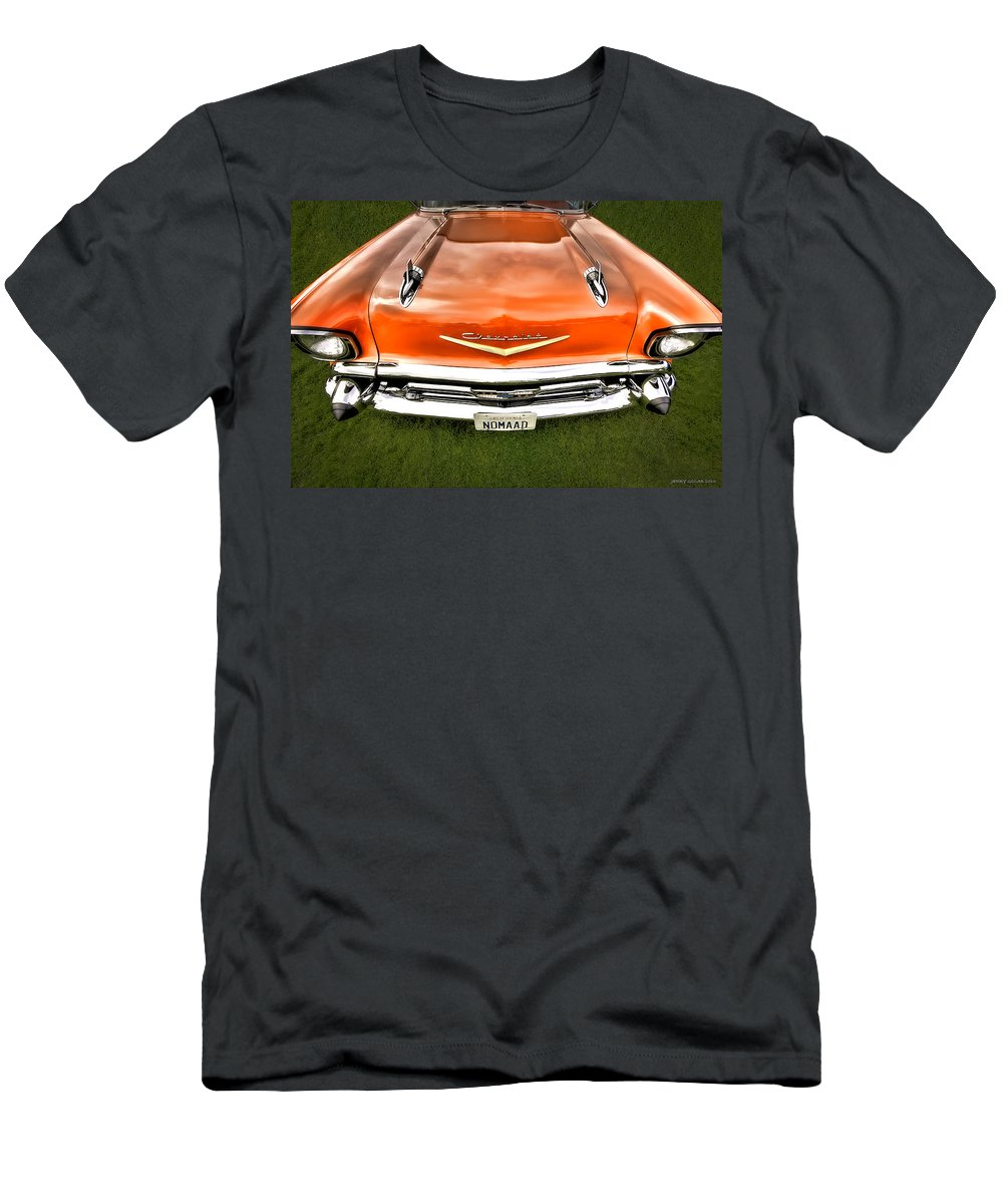 Transportation Men's T-Shirt (Athletic Fit) featuring the photograph Nomaad by Jerry Golab