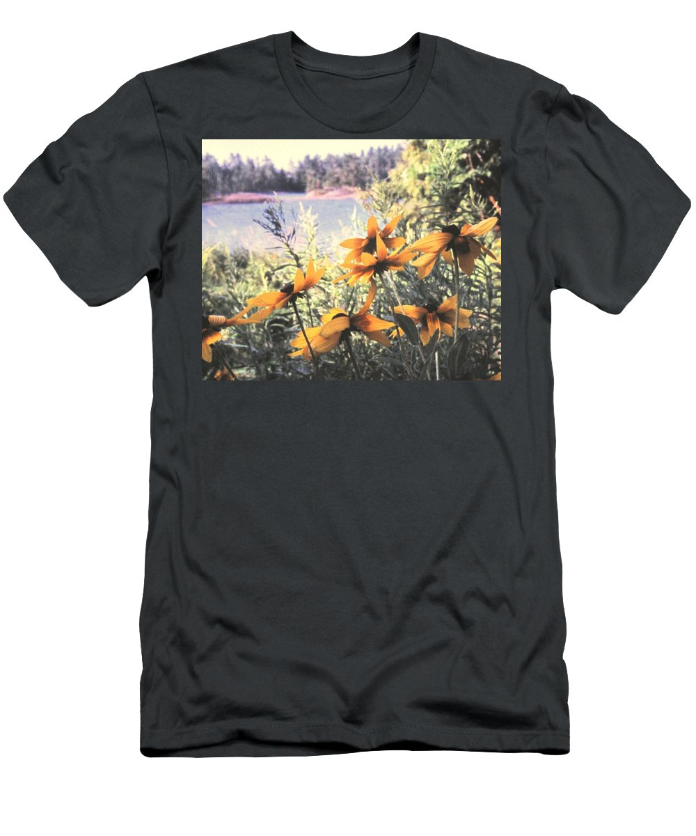 North Channel Men's T-Shirt (Athletic Fit) featuring the photograph North Channel Beauties by Ian MacDonald