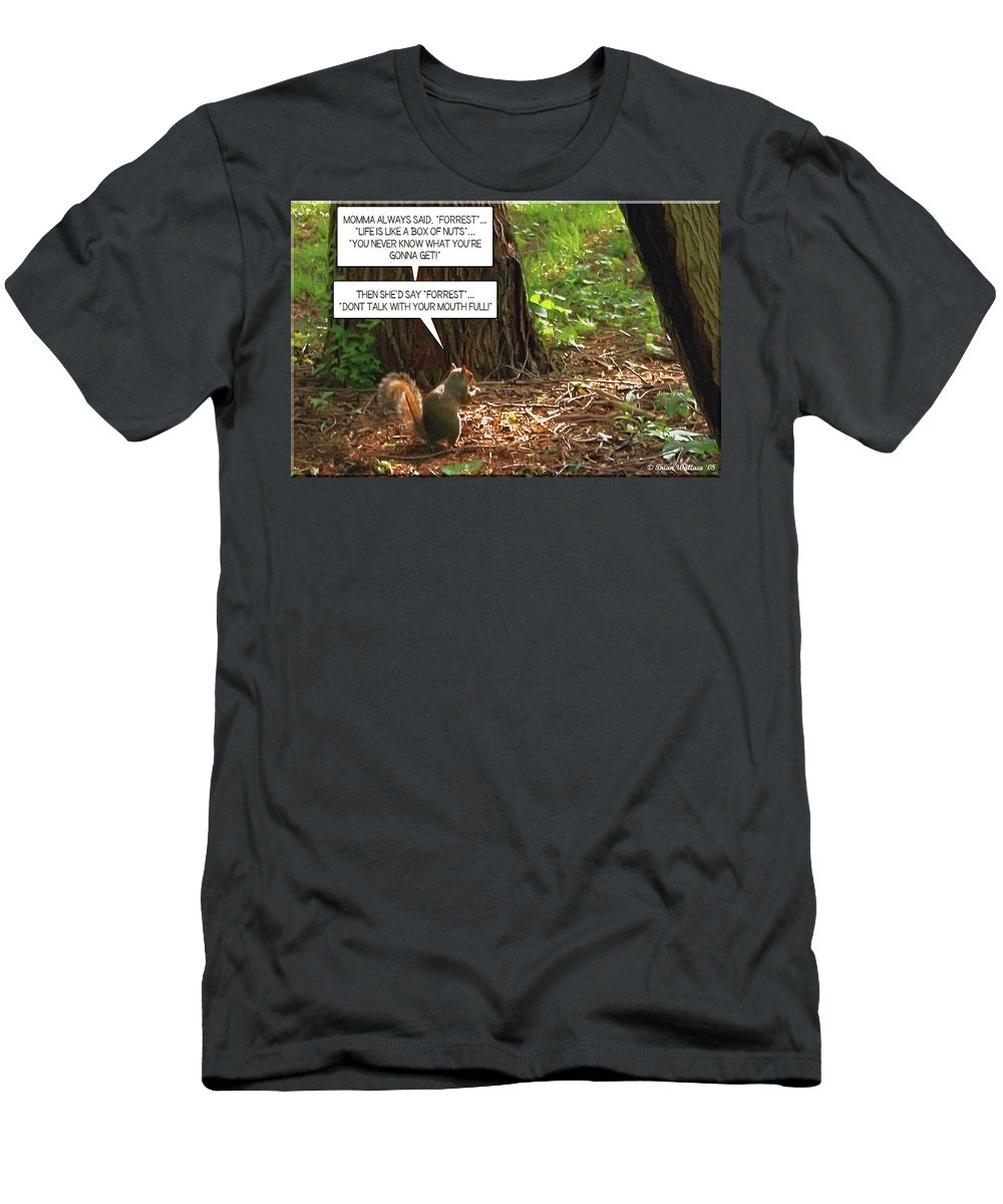 2d Men's T-Shirt (Athletic Fit) featuring the photograph Nuts by Brian Wallace