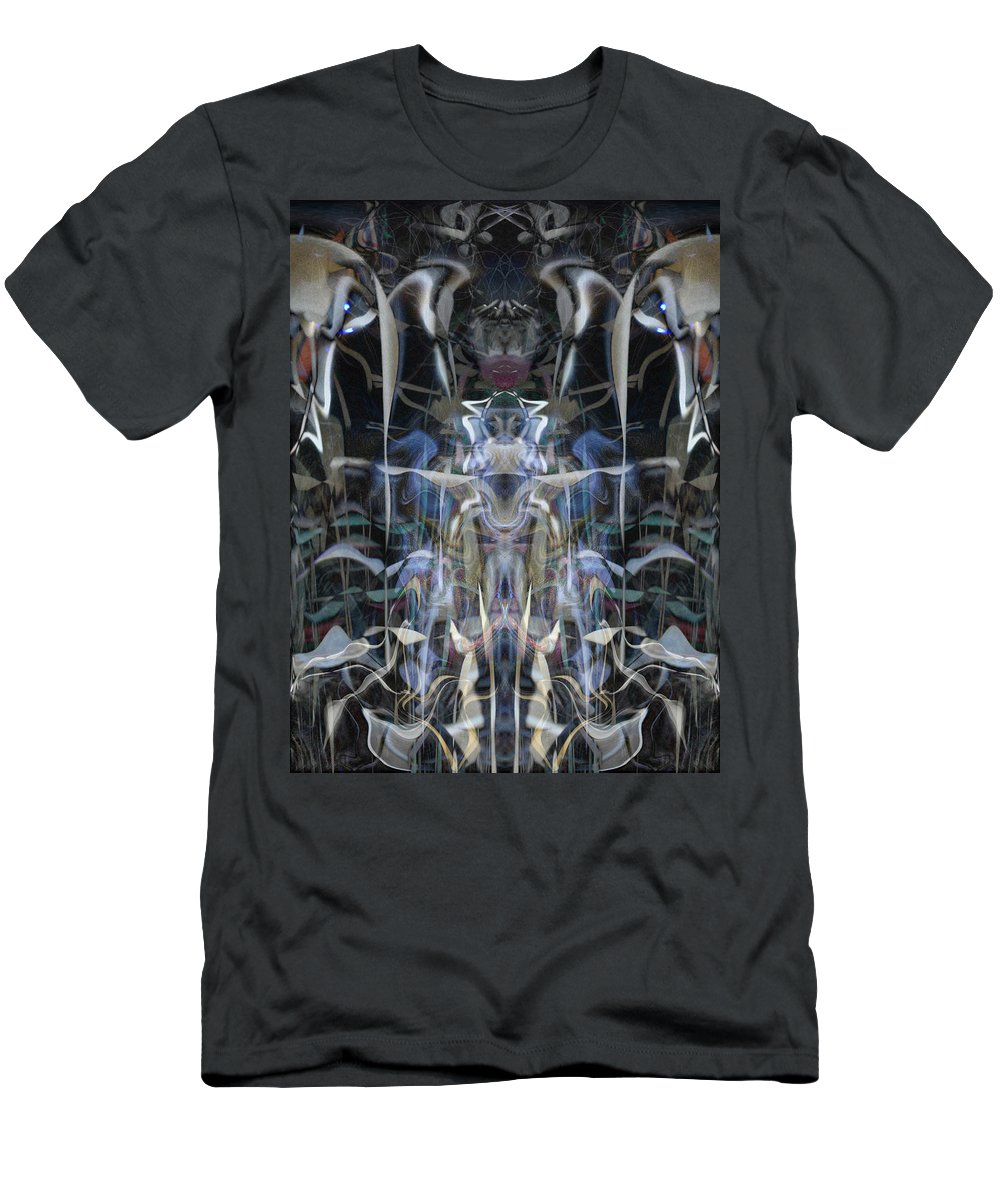 Deep Men's T-Shirt (Athletic Fit) featuring the digital art Oa-4361 by Standa1one