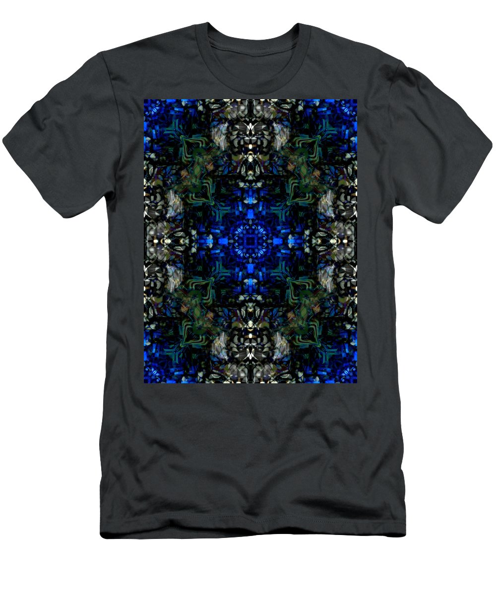 Deep Men's T-Shirt (Athletic Fit) featuring the digital art Oa-4893 by Standa1one