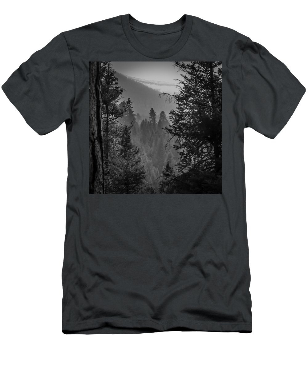 Men's T-Shirt (Athletic Fit) featuring the photograph Obscure Aspects by Dan Hassett