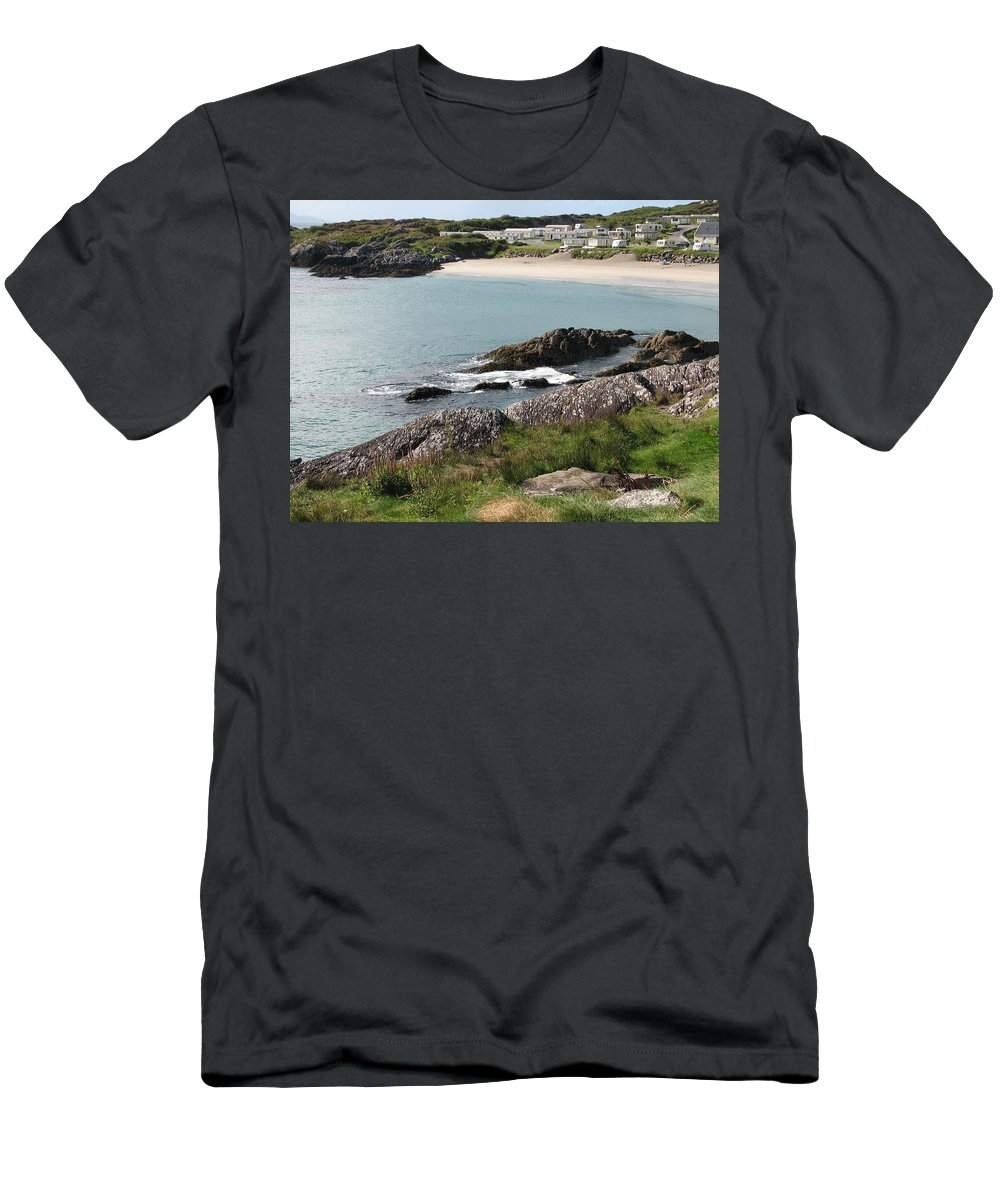 Kerry T-Shirt featuring the photograph O'Carrol's Cove by Kelly Mezzapelle