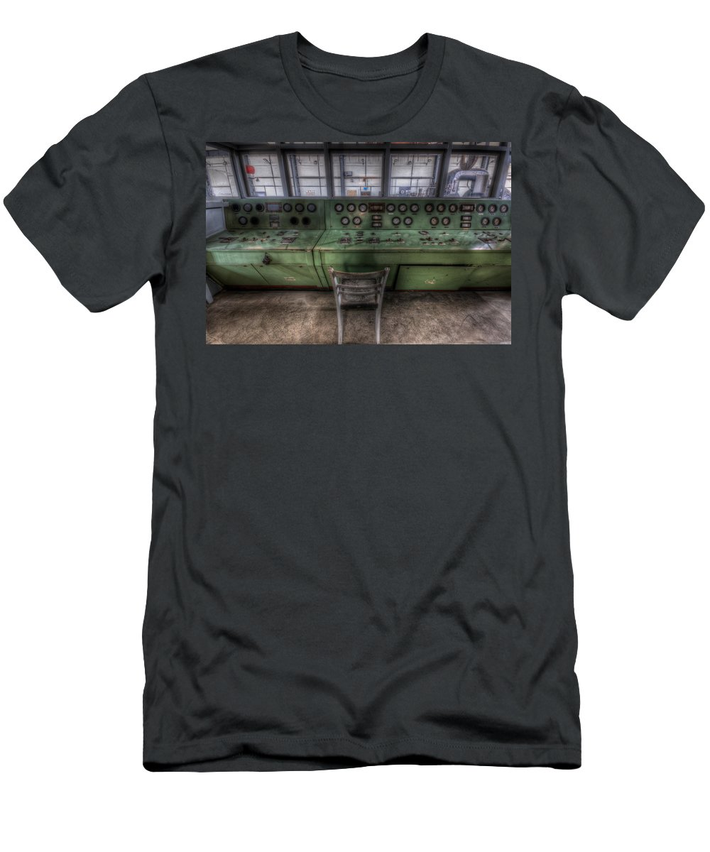 German Men's T-Shirt (Athletic Fit) featuring the photograph Off Set Control by Nathan Wright