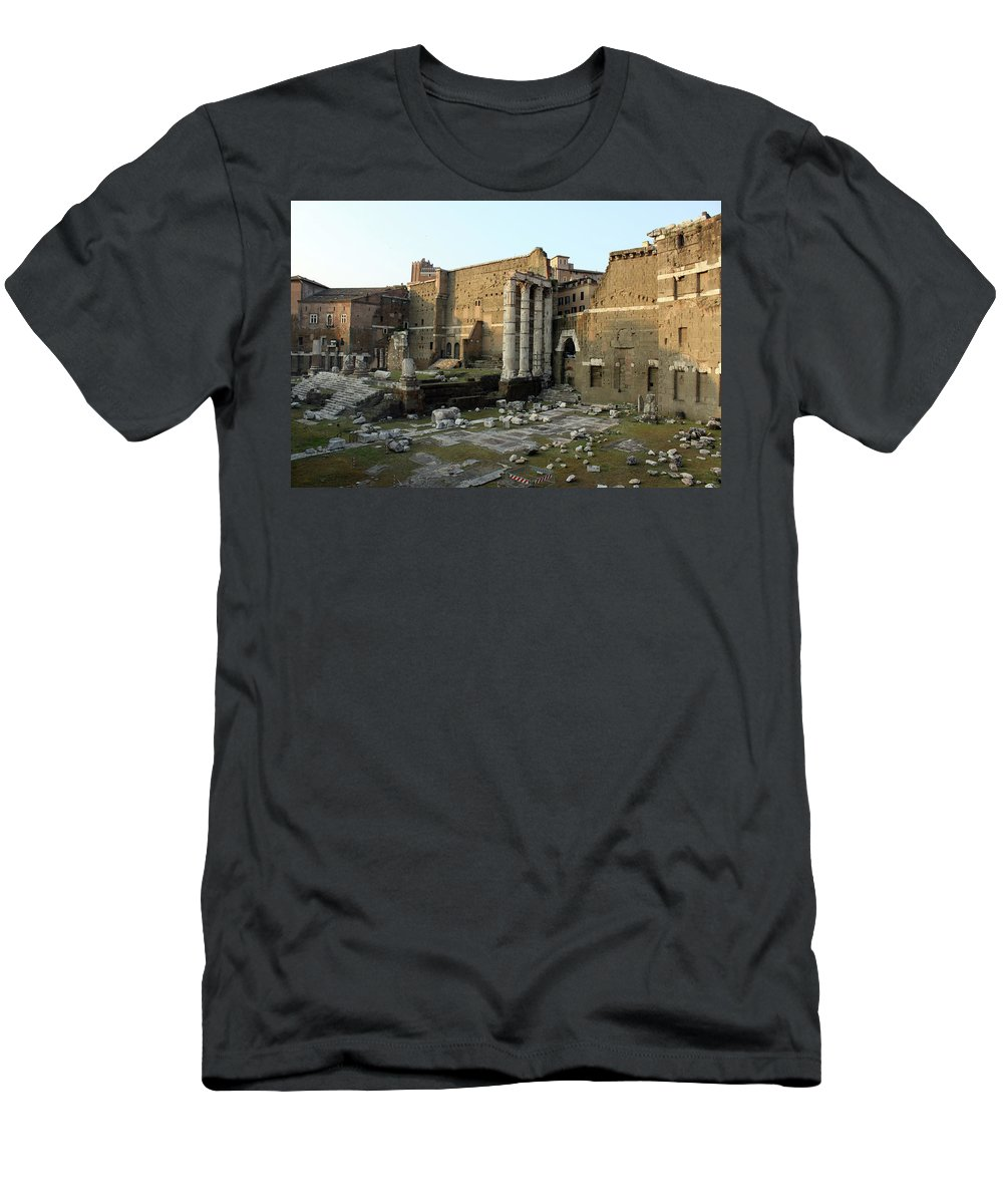 Rome Men's T-Shirt (Athletic Fit) featuring the photograph Old Rome by Munir Alawi