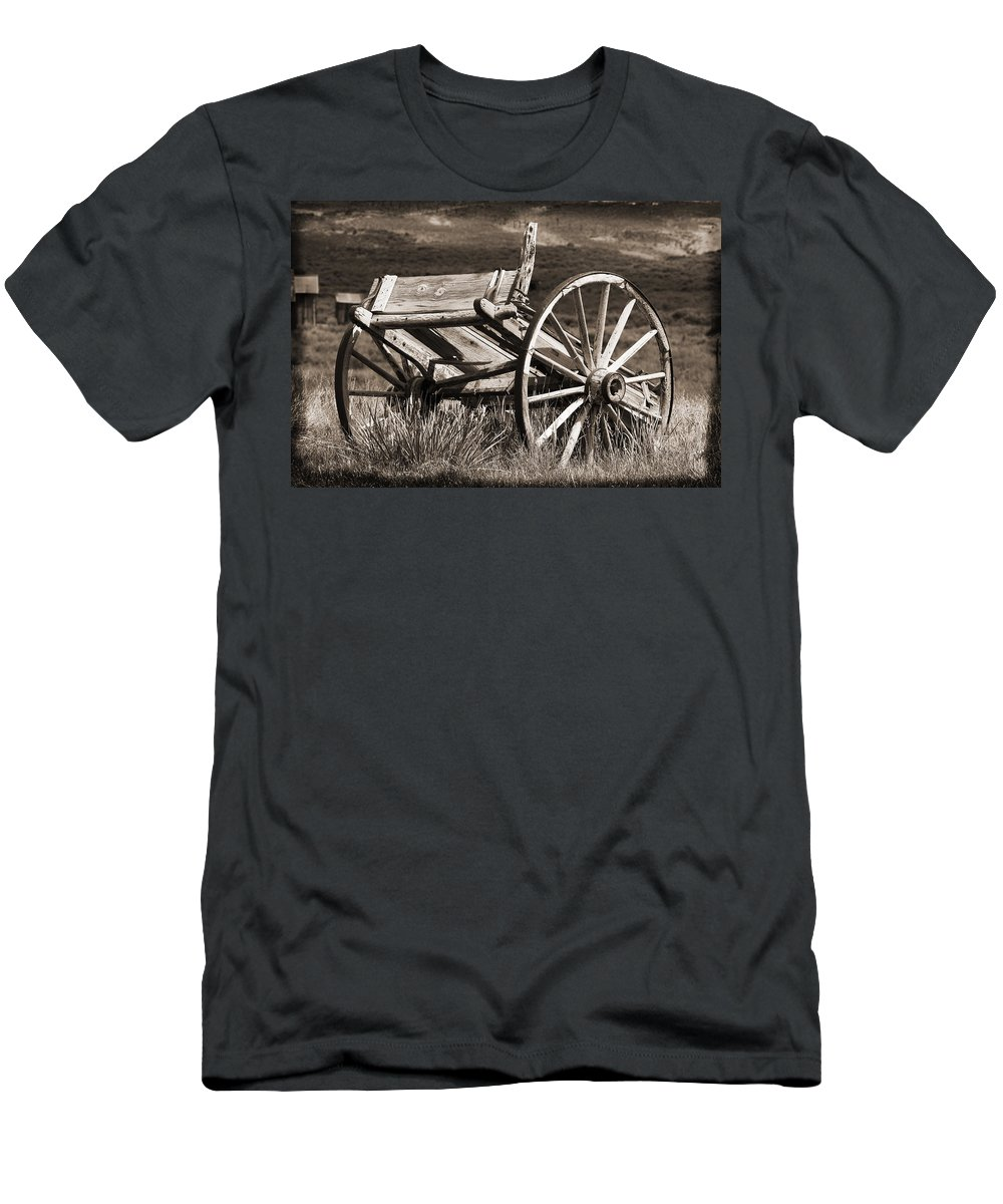 Antique Men's T-Shirt (Athletic Fit) featuring the photograph Old Wheels 2 by Kelley King