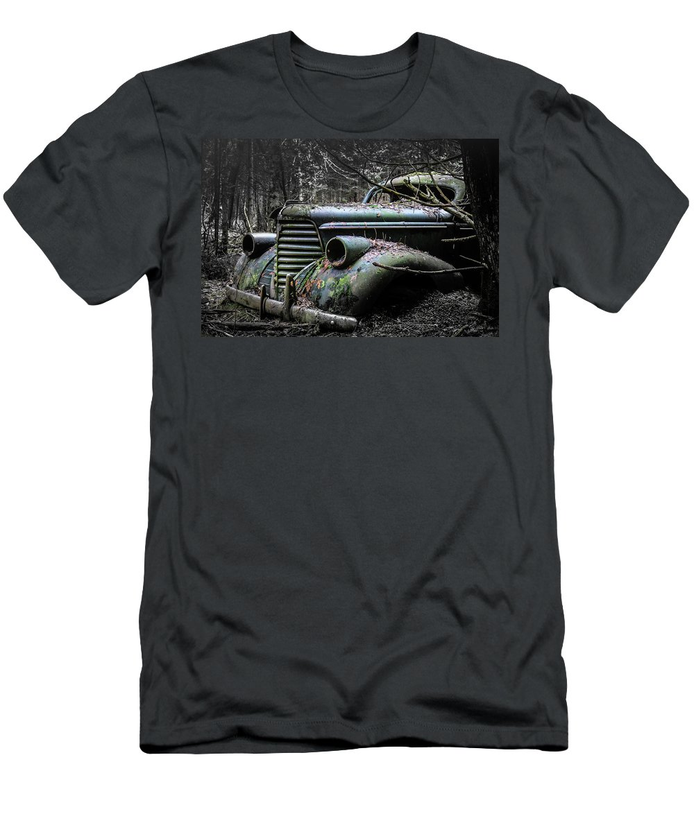 Oldsmobile Men's T-Shirt (Athletic Fit) featuring the photograph Oldsmobile 3 by Holger Richter