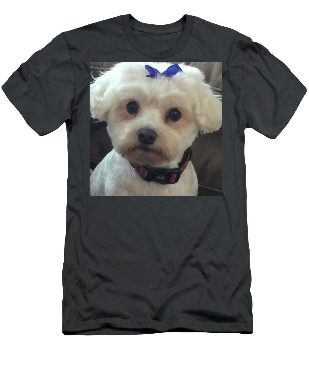 My Sweet Oliver Men's T-Shirt (Athletic Fit) featuring the photograph Oliver by Monica Sassano