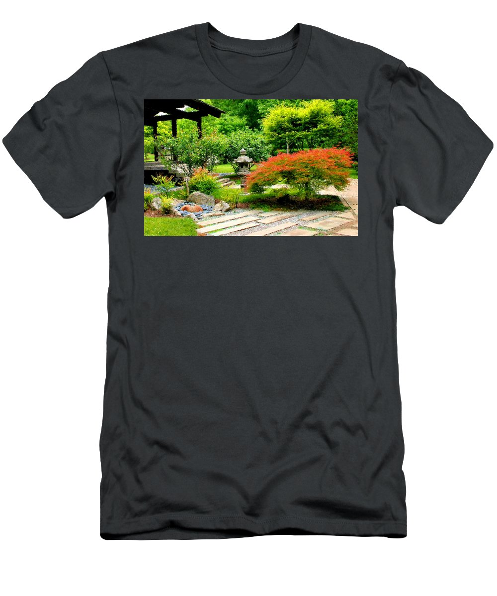 Oriental Men's T-Shirt (Athletic Fit) featuring the photograph Oriental Scenic by Kristin Elmquist