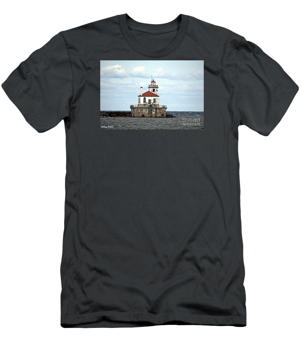 Lake Ontario T-Shirt featuring the photograph Oswego NY Lighthouse by Rennae Christman