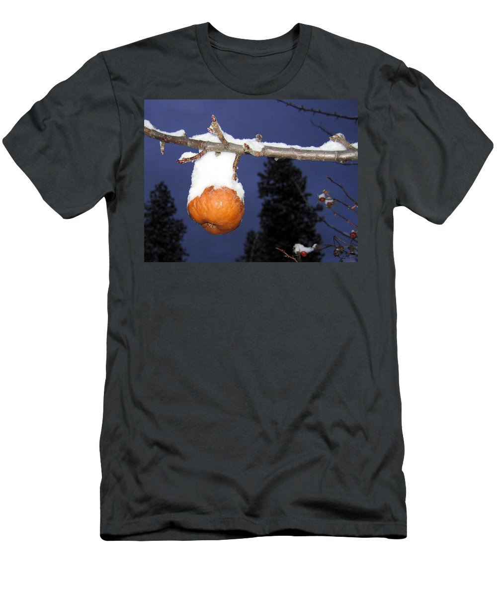 Apple Men's T-Shirt (Athletic Fit) featuring the photograph Out Of Season by Will Borden