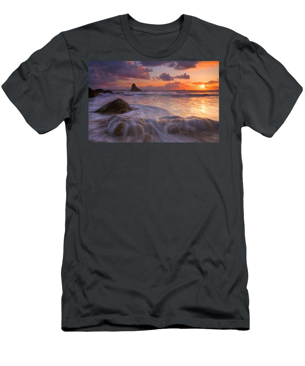 Sunset T-Shirt featuring the photograph Overcome by Mike Dawson