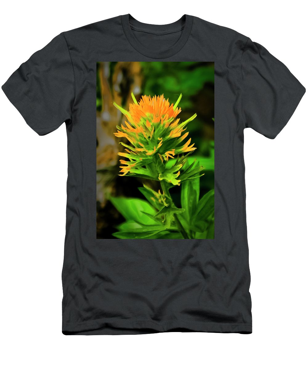 Paintbrush Men's T-Shirt (Athletic Fit) featuring the photograph Paintbrush by Albert Seger