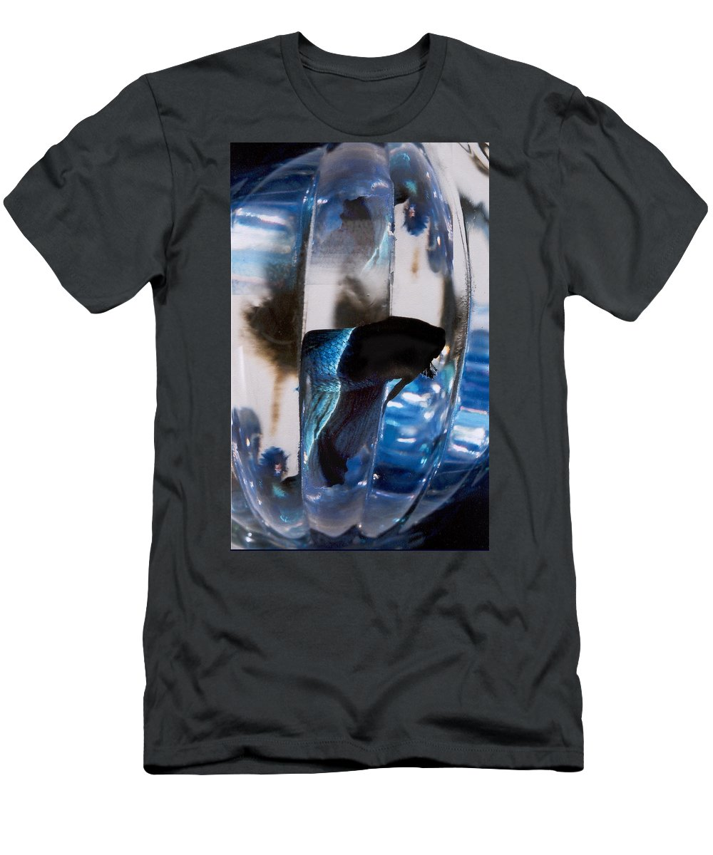 Abstract Men's T-Shirt (Athletic Fit) featuring the photograph panel three from Swirl by Steve Karol