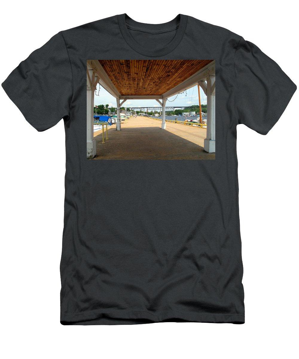 Parry Sound Men's T-Shirt (Athletic Fit) featuring the photograph Parry Sound by Ian MacDonald