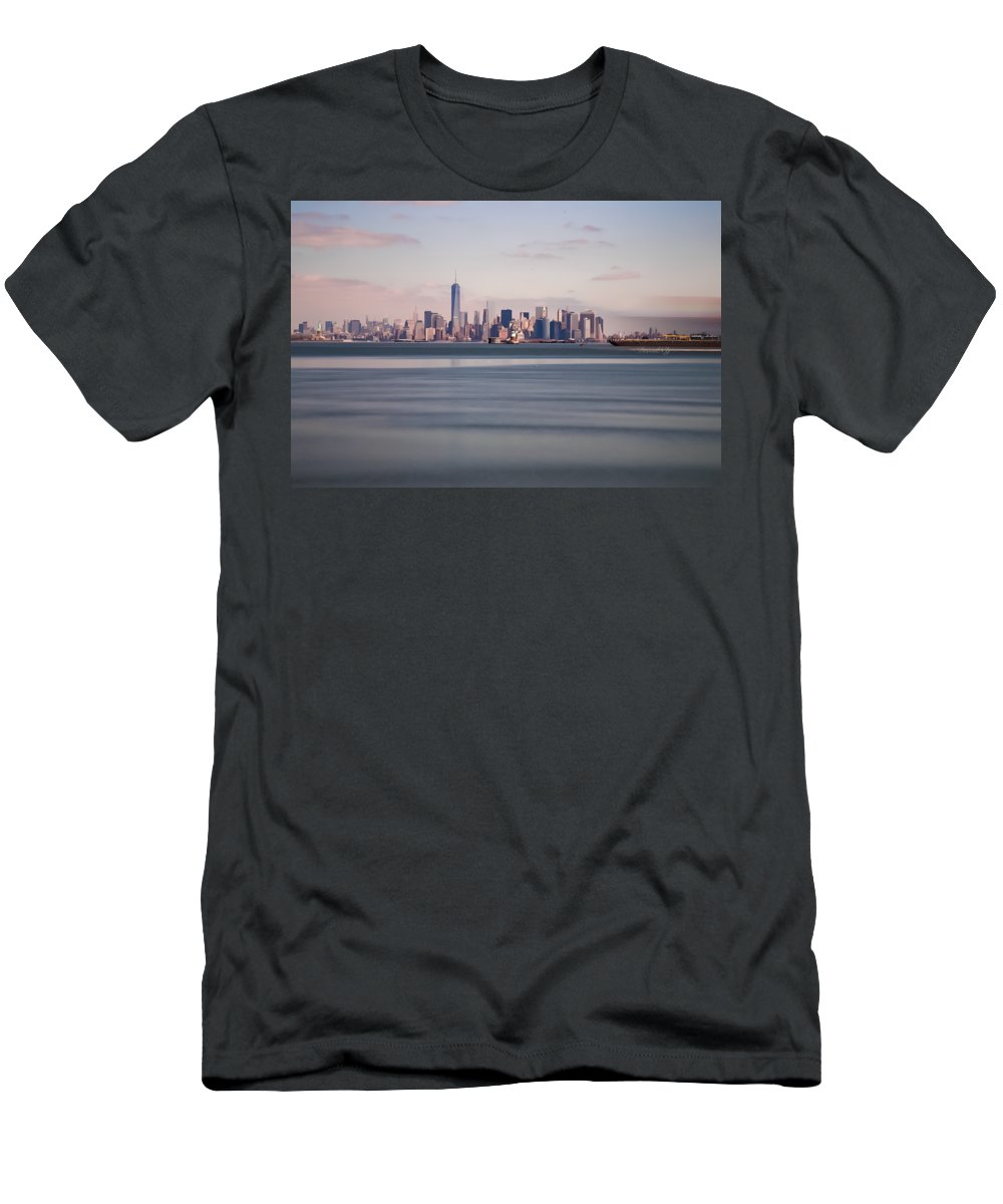 Men's T-Shirt (Athletic Fit) featuring the photograph Path To Freedom by Deeval NY