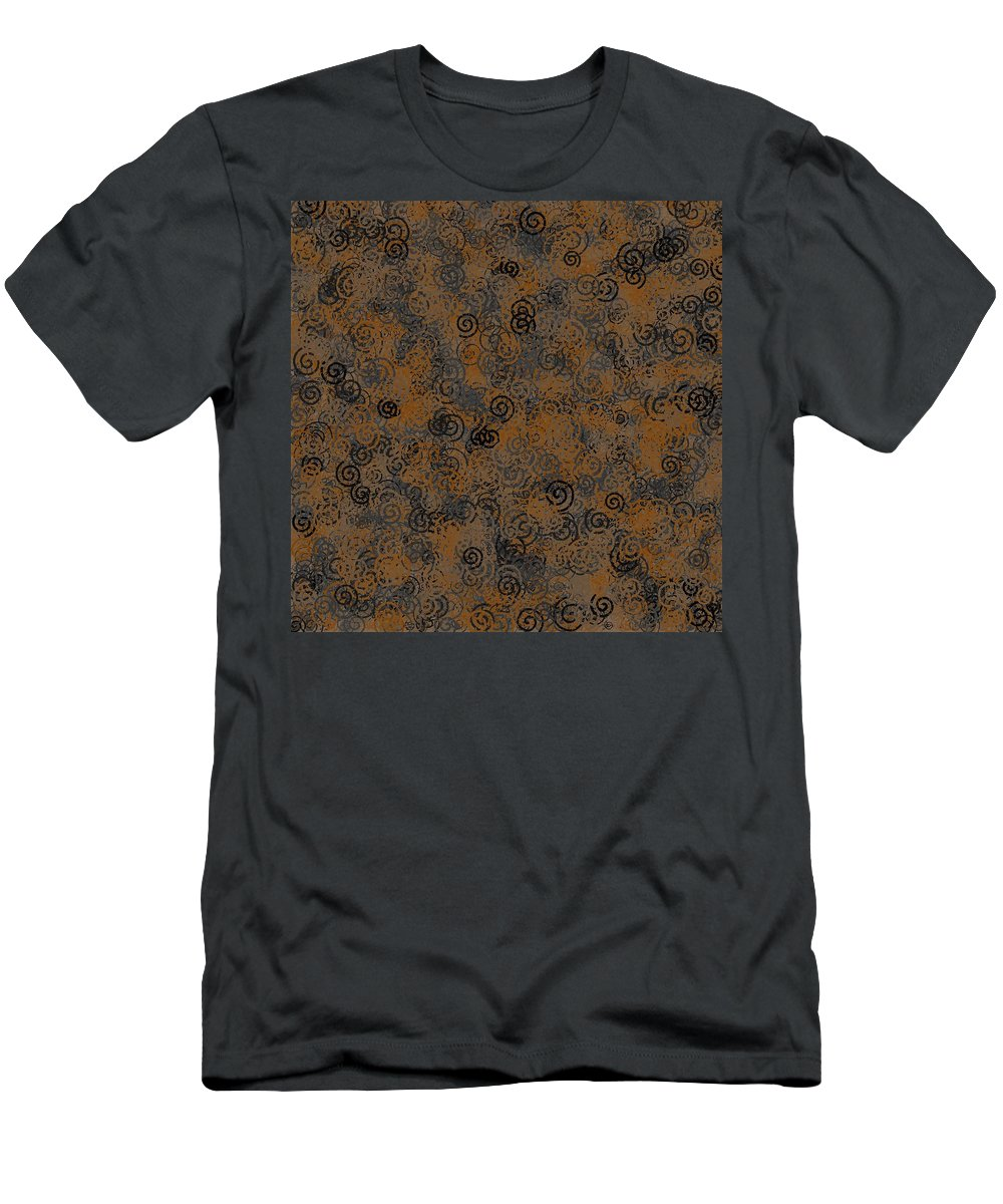 Pattern 110 Men's T-Shirt (Athletic Fit) featuring the digital art Pattern 110 by Marko Sabotin
