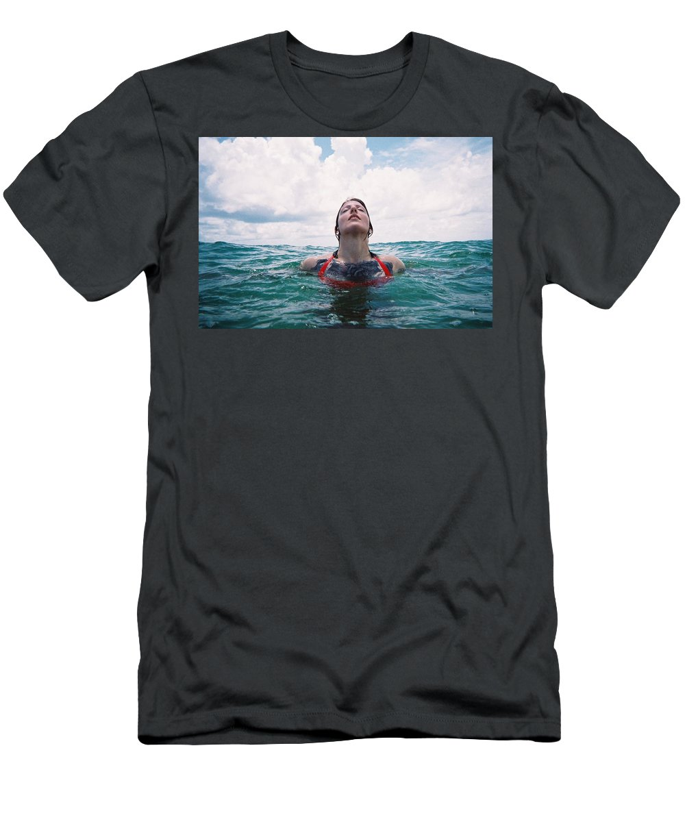 Film Photography Men's T-Shirt (Athletic Fit) featuring the photograph Photographer by Kari Ruff