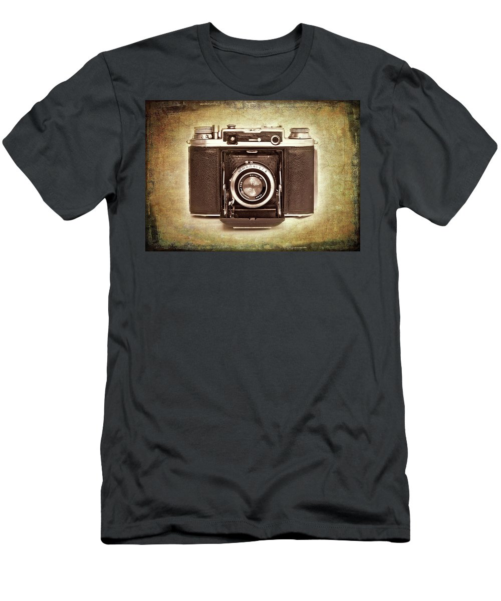 Nostalgia Men's T-Shirt (Athletic Fit) featuring the photograph Photographer's Nostalgia by Meirion Matthias