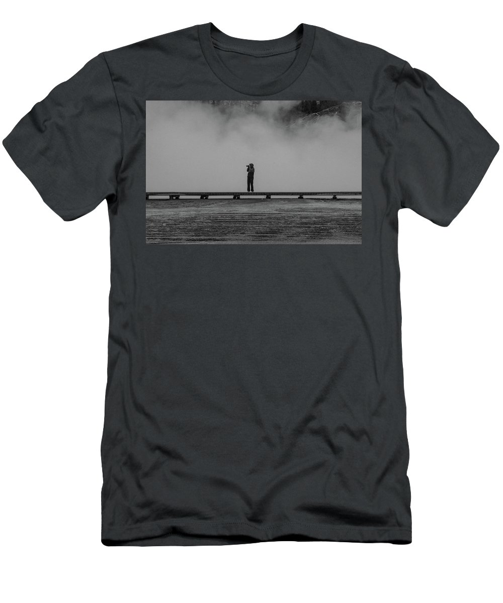 Landscape Men's T-Shirt (Athletic Fit) featuring the photograph Picture by Kathy Whitehurst
