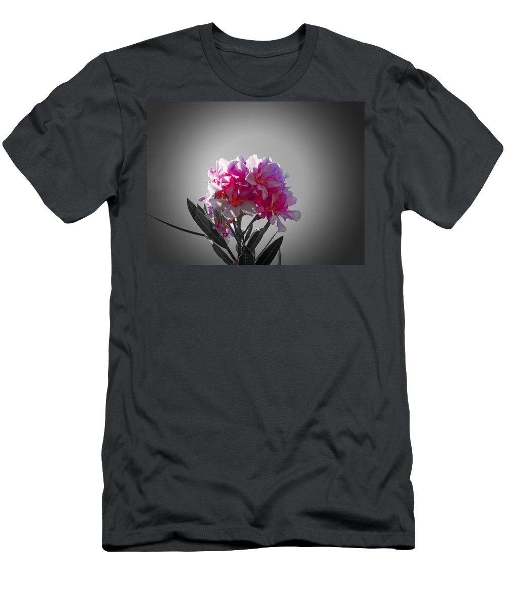 Pink Flowers Men's T-Shirt (Athletic Fit) featuring the photograph Pink Blossom by Douglas Barnard