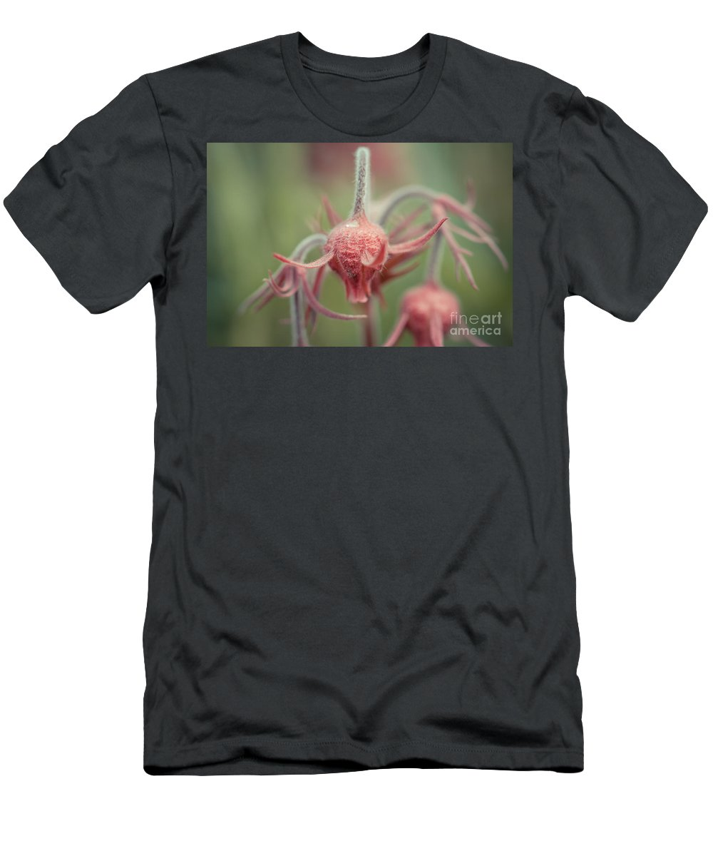 Colorado Men's T-Shirt (Athletic Fit) featuring the photograph Pink Fuzz 7 by Ashley M Conger