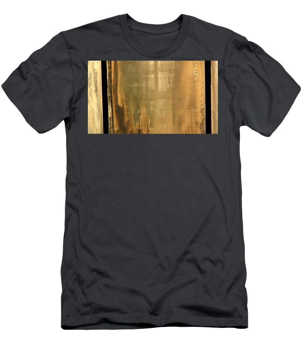 Swimming Men's T-Shirt (Athletic Fit) featuring the photograph Pool Reflections Three by Sarah Houser