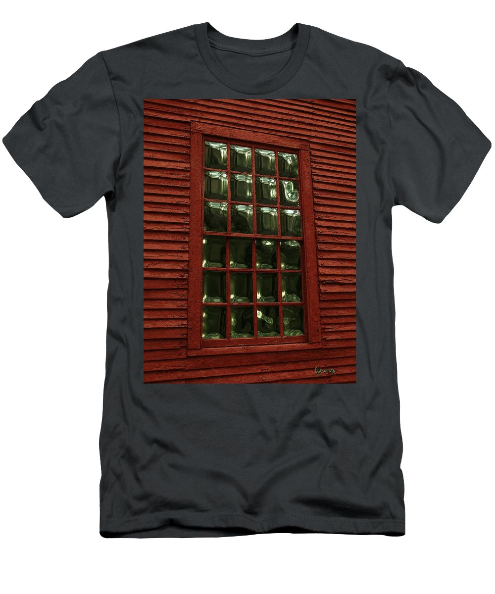 American History Men's T-Shirt (Athletic Fit) featuring the digital art Portal To The Past by RC DeWinter
