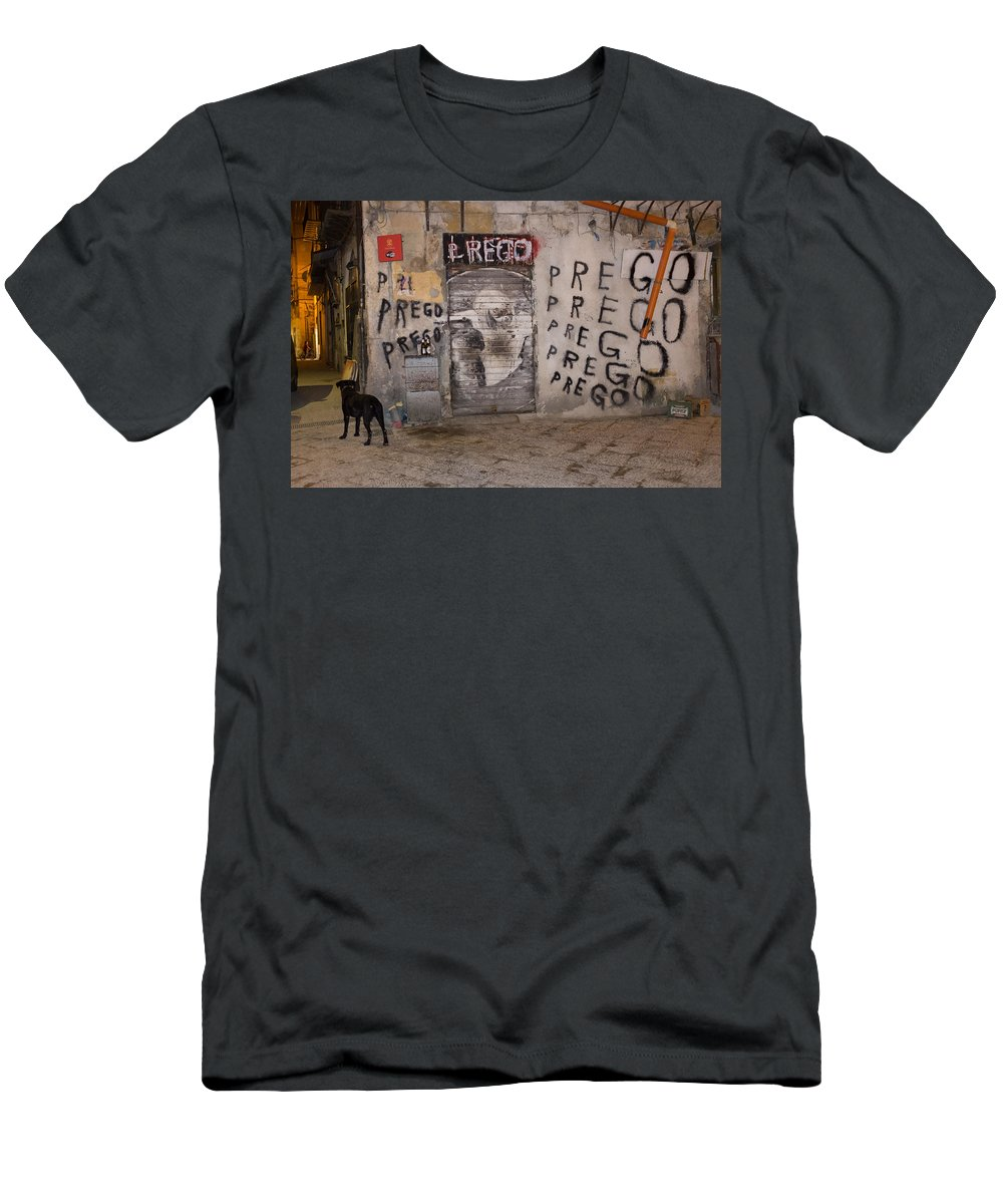 3rd World Men's T-Shirt (Athletic Fit) featuring the photograph Prego by Patricia Hamilton